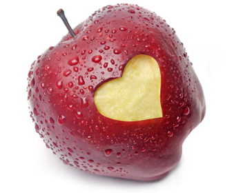 как запечь яблоки в микроволновке с сахаром фото