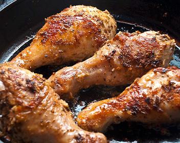 Запекаем куриные ножки в духовке
