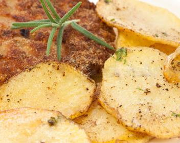 как запечь картошку с мясом